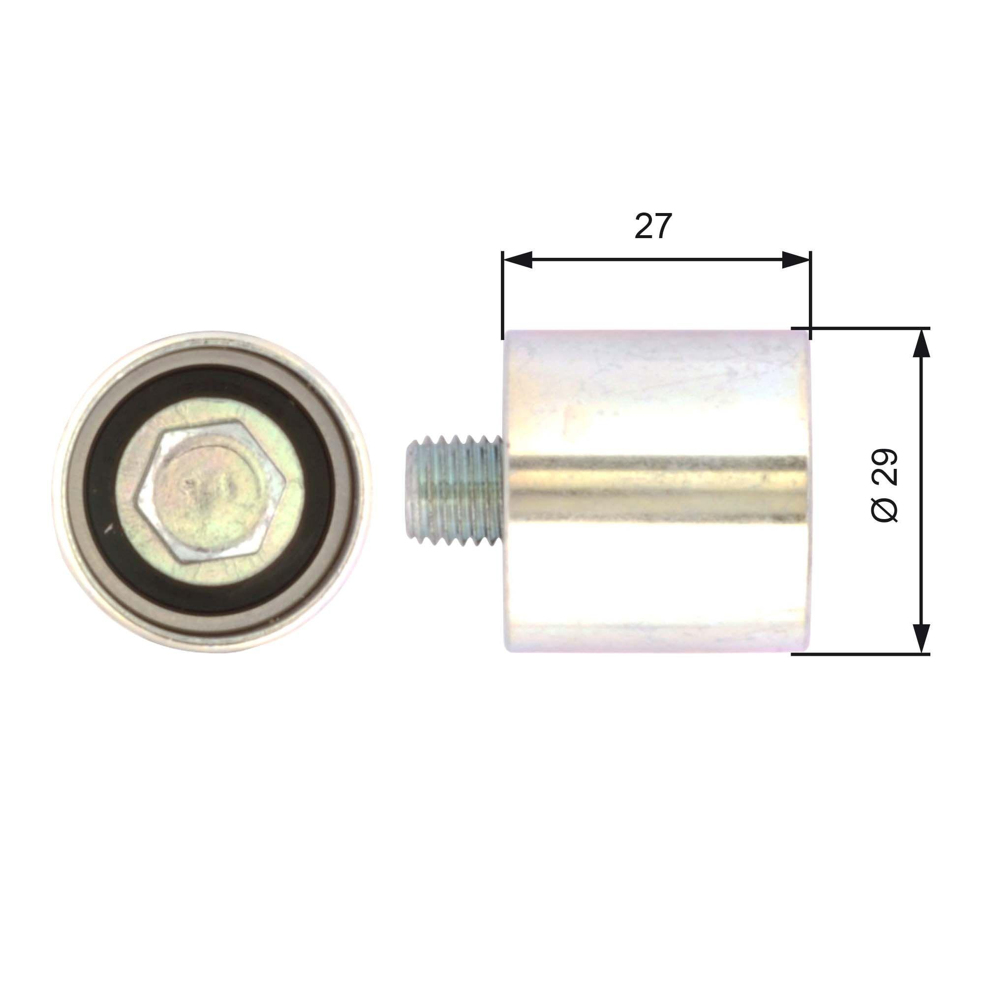 778621138 GATES FleetRunner™ Micro-V® Stretch Fit® Umlenkrolle Zahnriemen T42019 günstig kaufen