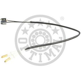 Kupite in zamenjajte Opozorilni kontakt, obraba zavorne obloge OPTIMAL WKT-60041K
