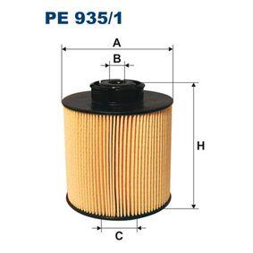 Brændstof-filter PE935/1 MERCEDES-BENZ VARIO med en rabat — køb nu!