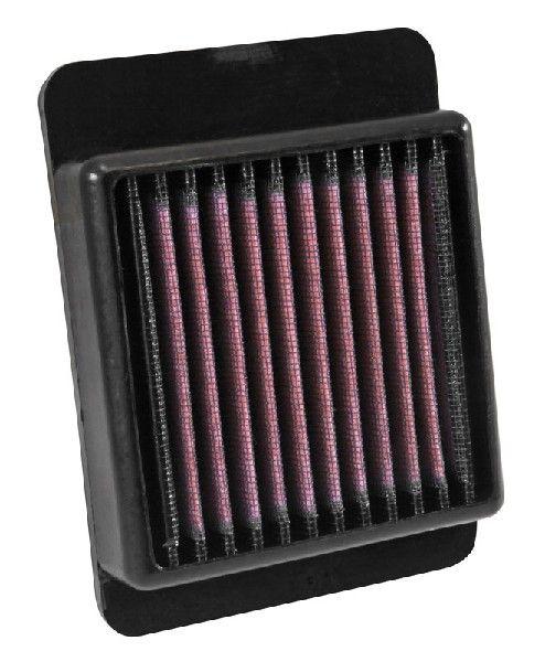 Motas K&N Filters Filtro de longa duração Comprimento: 151mm, Largura: 113mm, Altura: 38mm Filtro de ar YA-3215 comprar económica