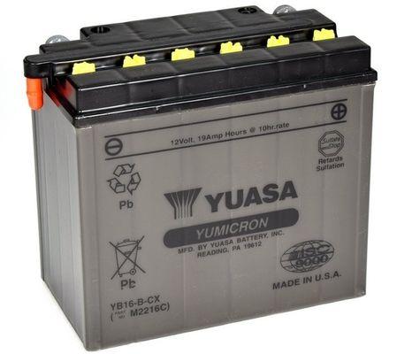 YUASA YuMicron Akumulator YB16-B-CX DUCATI