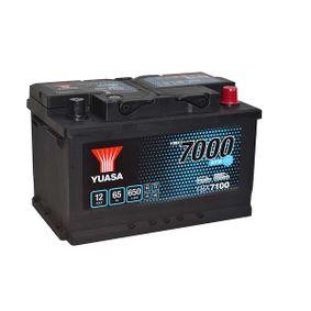 YBX7100 YUASA YBX7000 Batterie-Kapazität: 65Ah Kälteprüfstrom EN: 650A, Spannung: 12V, Polanordnung: 0 Starterbatterie YBX7100 günstig kaufen