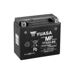Moto YUASA MF Accucapaciteit: 18,9Ah Spanning (V): 12V Accu / Batterij YTX20-BS koop goedkoop