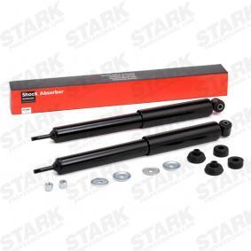 Comprare SKSA-0132947 STARK Assale posteriore, A pressione del gas, A doppio tubo, Ammortizzatore telescopico, Occhiello superiore, Spina inferiore Lunghezza: 470mm Ammortizzatore SKSA-0132947 poco costoso