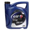 Olio motore 2196571 con un ottimo rapporto ELF qualità/prezzo