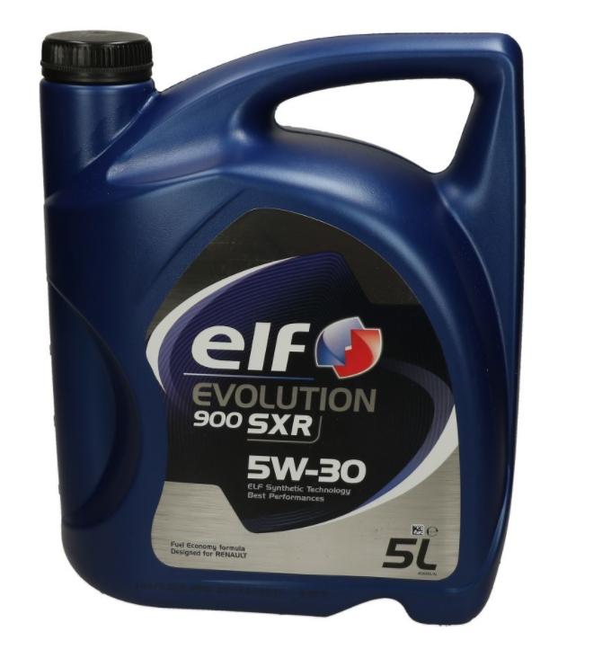 Купете 0501CA107C27468299 ELF Evolution, 900 SXR 5W-30, 5литър, Синтетично масло Двигателно масло 2194839 евтино