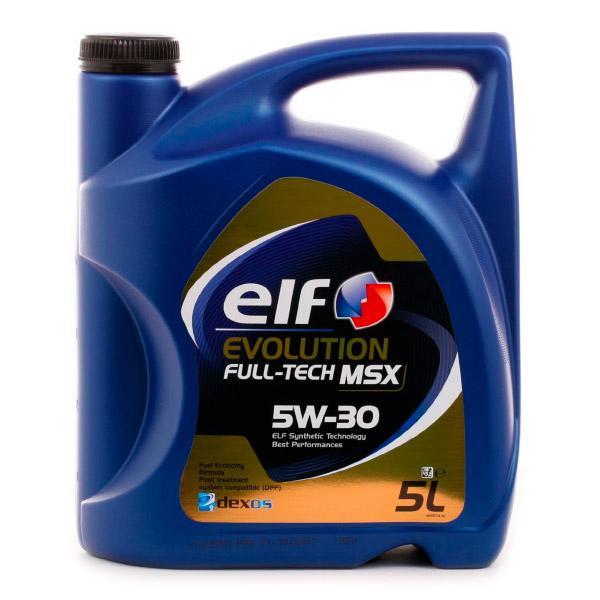 0501CA224CJ1468548 ELF Evolution, Full-Tech MSX 5W-30, 5l, Synthetiköl Motoröl 2194904 günstig kaufen