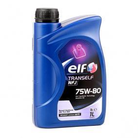 Kupi 0501CA5005C7467307 ELF TRANSELF 75W-80, Vsebina: 1l API GL-4 Olje menjalnika 2194757 poceni