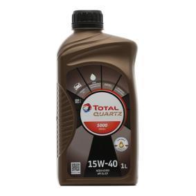 0501CA078CC8466845 TOTAL Quartz, 5000 Diesel 15W-40, 1l, Mineralöl Motoröl 2166246 günstig kaufen