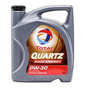 2151523 TOTAL Quartz, 9000 Energy 0W-30, 4l, Synthetiköl Motoröl 2151523 günstig kaufen