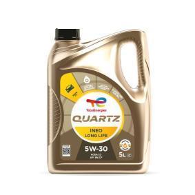 Купете TOTAL Quartz, INEO Long Life 5W-30, 5литър, Масло напълно синтетично Двигателно масло 2204218 евтино