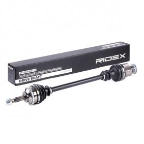 13D0025 RIDEX Länge: 724mm, Außenverz.Radseite: 21, Zahnlücken Getriebeseite Anschl. Getriebe: 23, Zähnez. ABS-Ring: 26 Antriebswelle 13D0025 günstig kaufen