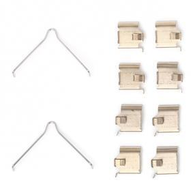 buy and replace Accessory Kit, disc brake pads RIDEX 1164A0027