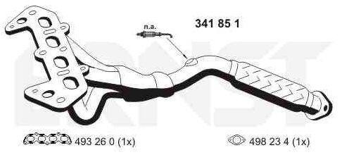 Buy original Exhaust manifold VEGAZ FR-270ERNS