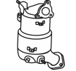 Original Dieselpartikelfilter TK-870 Toyota