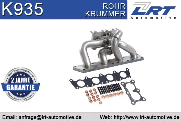 Audi A3 2011 Exhaust manifold VEGAZ VAK-285: with exhaust pipe gasket, Set