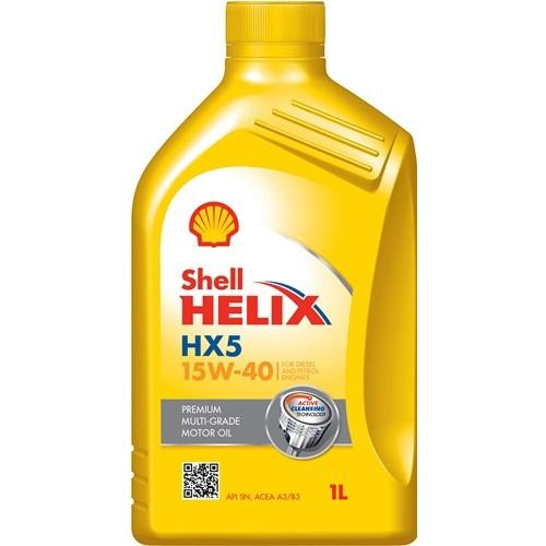 0501CA078CC8466845 SHELL Helix, HX5 15W-40, 15W-40, 1l, Mineralöl Motoröl 550046277 günstig kaufen