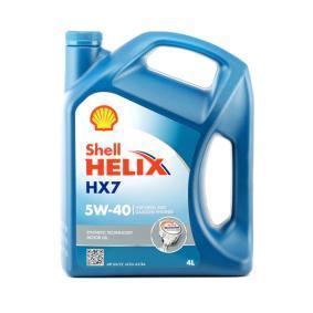 Comprare 550046284 SHELL Helix, HX7 5W-40, 4l, Olio parzialmente sintetico Olio motore 550046284 poco costoso