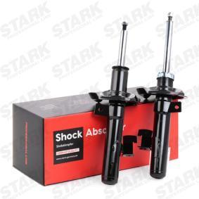 SKSA-0133096 STARK Vorderachse, Gasdruck, Zweirohr, Federbein, oben Stift Länge: 506mm Stoßdämpfer SKSA-0133096 günstig kaufen