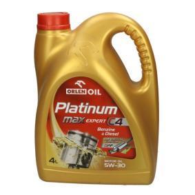 P000326 ORLEN PLATINUM MaxExpert, C4 5W-30, 4l, Vollsynthetiköl Motoröl QFS431B40 günstig kaufen