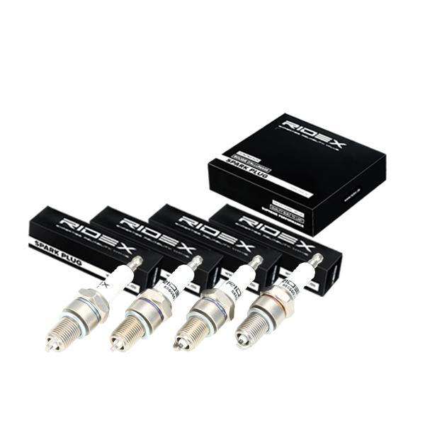 Achetez Bougies d'allumage essence RIDEX 686S0069 (Écart. électr.: 0,8mm) à un rapport qualité-prix exceptionnel