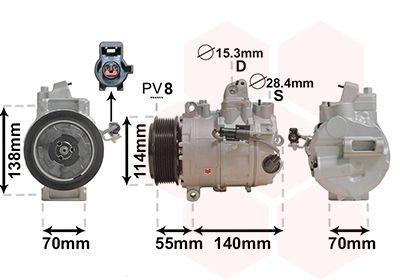 Original LAND ROVER Kompressor Klimaanlage 0200K187