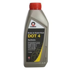0501CA593S18467286 COMMA DOT 4 1l Brake Fluid BF41L cheap