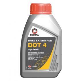 0501CA593S18467286 COMMA DOT 4 Inhalt: 500ml Bremsflüssigkeit BF4500M günstig kaufen