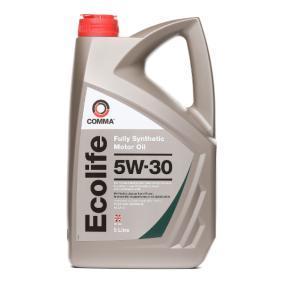 ECL5L COMMA Ecolife 5W-30, 5l, Vollsynthetiköl Motoröl ECL5L günstig kaufen