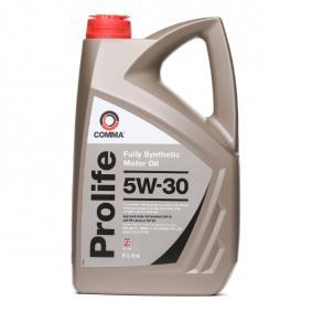 17720 COMMA Prolife 5W-30, 5l, Synthetic Oil Engine Oil PRO5L cheap