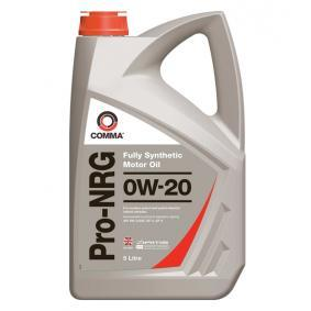 P000311 COMMA Pro-NRG 0W-20, 5l, Synthetic Oil Engine Oil NRG5L cheap