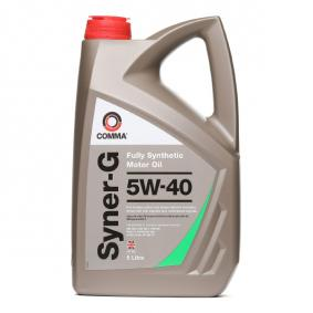SYN5L COMMA Syner-G 5W-40, 5l, Synthetic Oil Engine Oil SYN5L cheap