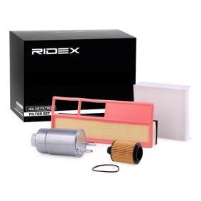 Comprare 4055F0162 RIDEX Kit filtri 4055F0162 poco costoso