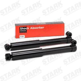 Comprare SKSA-0133194 STARK Assale posteriore, Pressione olio, A doppio tubo, Ammortizzatore telescopico, Occhiello superiore, Occhiello inferiore Lunghezza: 422mm Ammortizzatore SKSA-0133194 poco costoso