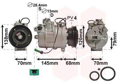 Original VW Kompressor Klimaanlage 0300K011