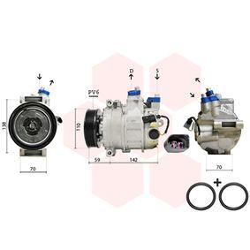 0300K029 Compresor, aire acondicionado VAN WEZEL calidad original