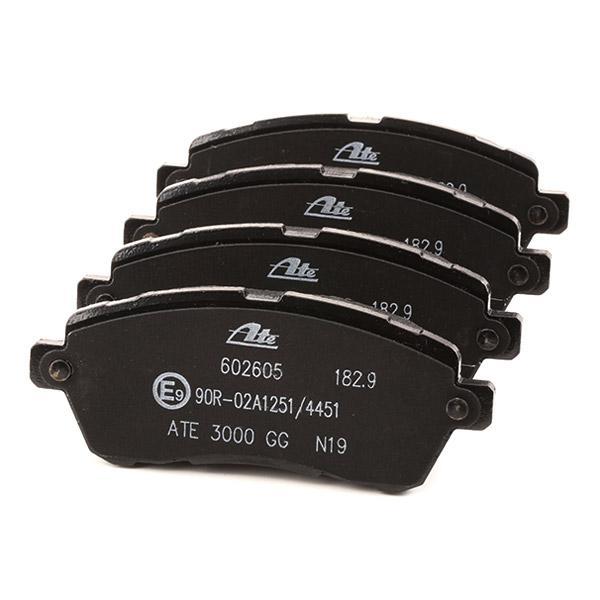 13.0460-2605.2 Bremsbelagsatz ATE - Markenprodukte billig