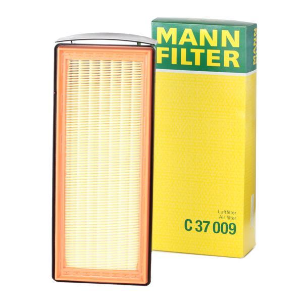 C 37 009 MANN-FILTER Filtereinsatz Länge: 356mm, Länge: 356mm, Breite: 148mm, Höhe: 78mm Luftfilter C 37 009 günstig kaufen
