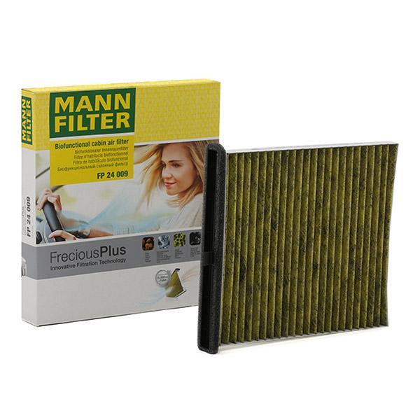 MAZDA MX 2021 Fahrzeugklimatisierung - Original MANN-FILTER FP 24 009 Breite: 214mm, Höhe: 28mm, Länge: 235mm