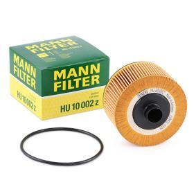 HU 10 002 z MANN-FILTER mit Dichtungen Innendurchmesser: 21mm, Ø: 92mm, Höhe: 64mm Ölfilter HU 10 002 z günstig kaufen