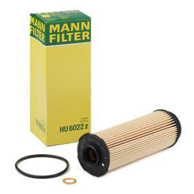 HU 6022 z MANN-FILTER mit Dichtungen Innendurchmesser: 22mm, Innendurchmesser 2: 44mm, Ø: 54mm, Höhe: 155mm Ölfilter HU 6022 z günstig kaufen