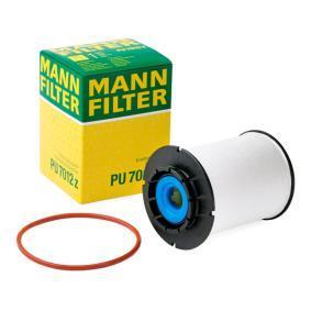 PU 7012 z MANN-FILTER mit Dichtungen Höhe: 96mm Kraftstofffilter PU 7012 z günstig kaufen