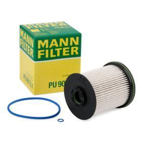 PU 9012 z MANN-FILTER mit Dichtungen Höhe: 106mm Kraftstofffilter PU 9012 z günstig kaufen