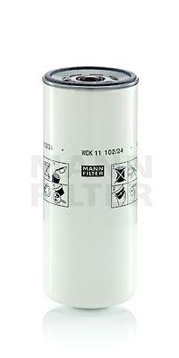 WDK 11 102/24 MANN-FILTER Filtr paliwa do VOLVO FMX - kup teraz