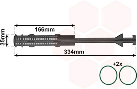 Originali Filtro essiccatore aria condizionata 0600D279 BMW