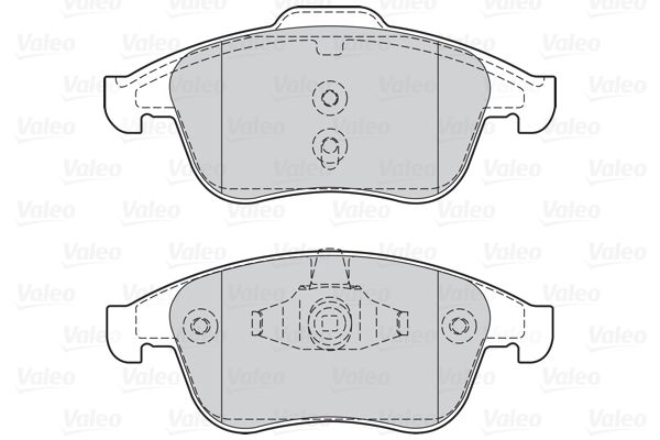 302128 Bremsbelagsatz VALEO - Markenprodukte billig