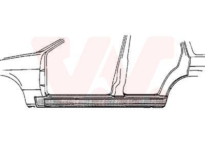 VAN WEZEL: Original Einstiegsblech 0640103 ()