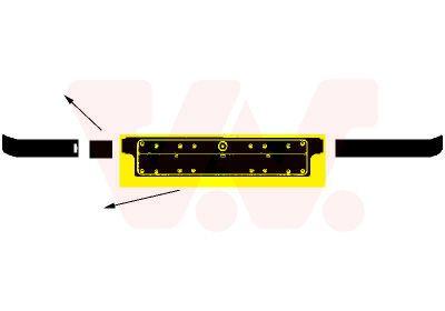 VAN WEZEL: Original Kennzeichenhalter 0640580 (Qualität: Equipart Certified)