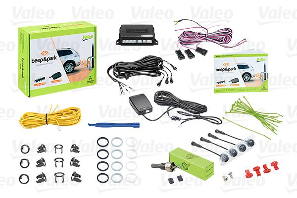 632200 VALEO Bak, med sensor, Antal sensorer: 4 Parkeringshjälp 632200 köp lågt pris