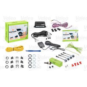 Køb 632200 VALEO Ultralydsensor, sort, mat, malbar, med sensor Udbygningssæt til parkeringsassistent system med forhindringsgenkendelse 632200 billige